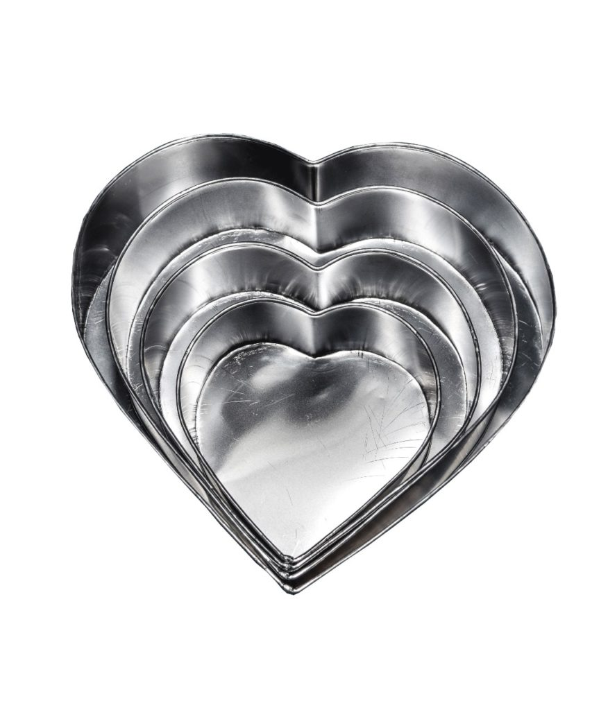 Moldes de corazones